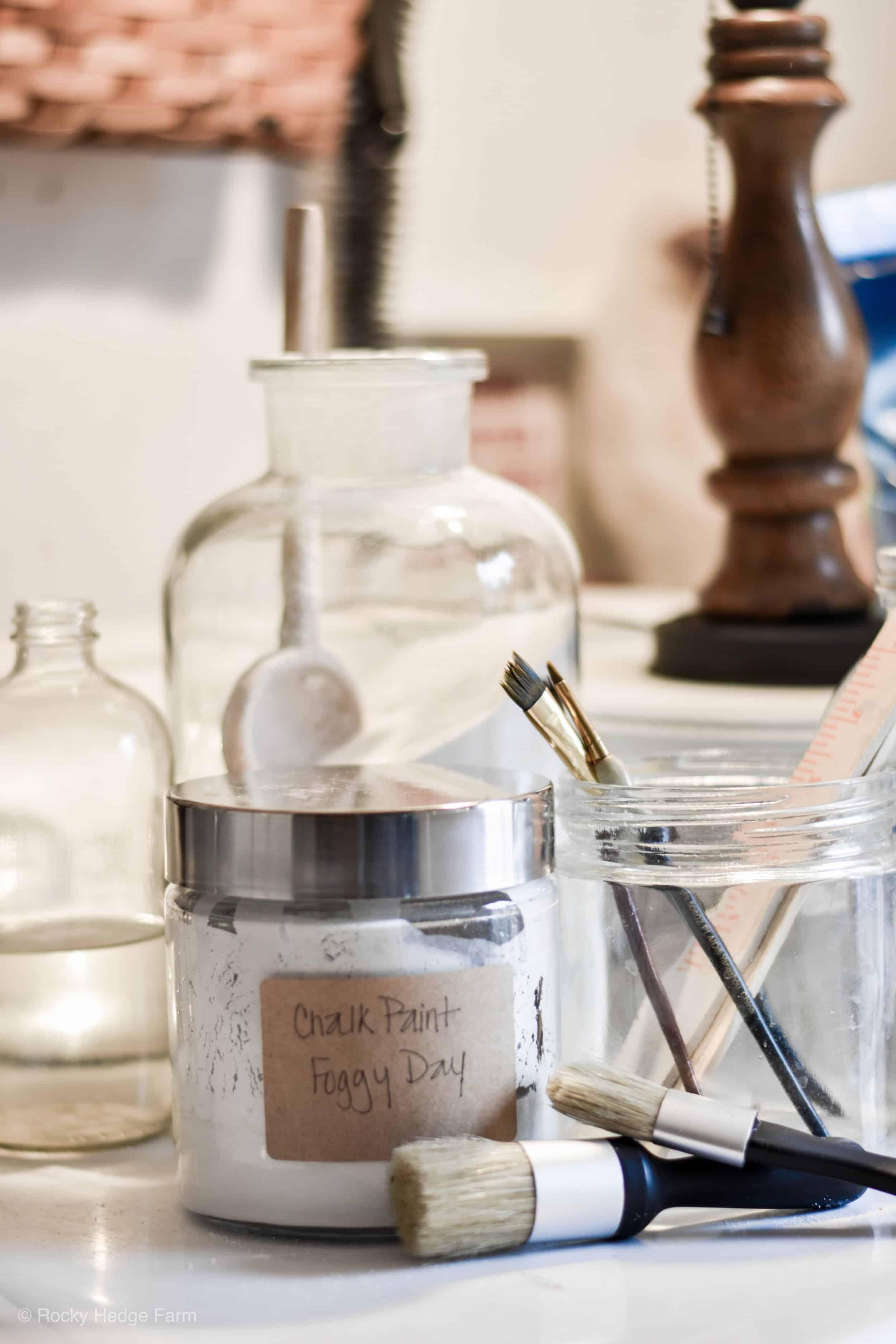 How to Make Chalk Paint - Rocky Hedge Farm