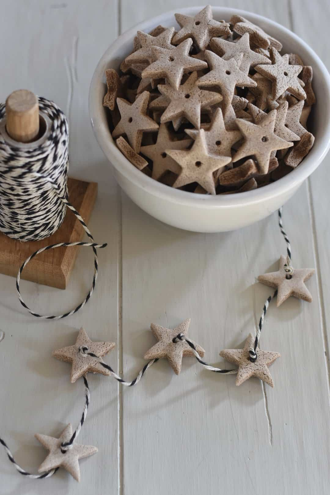 Christmas Scented Salt Dough Ornaments - Rocky Hedge Farm