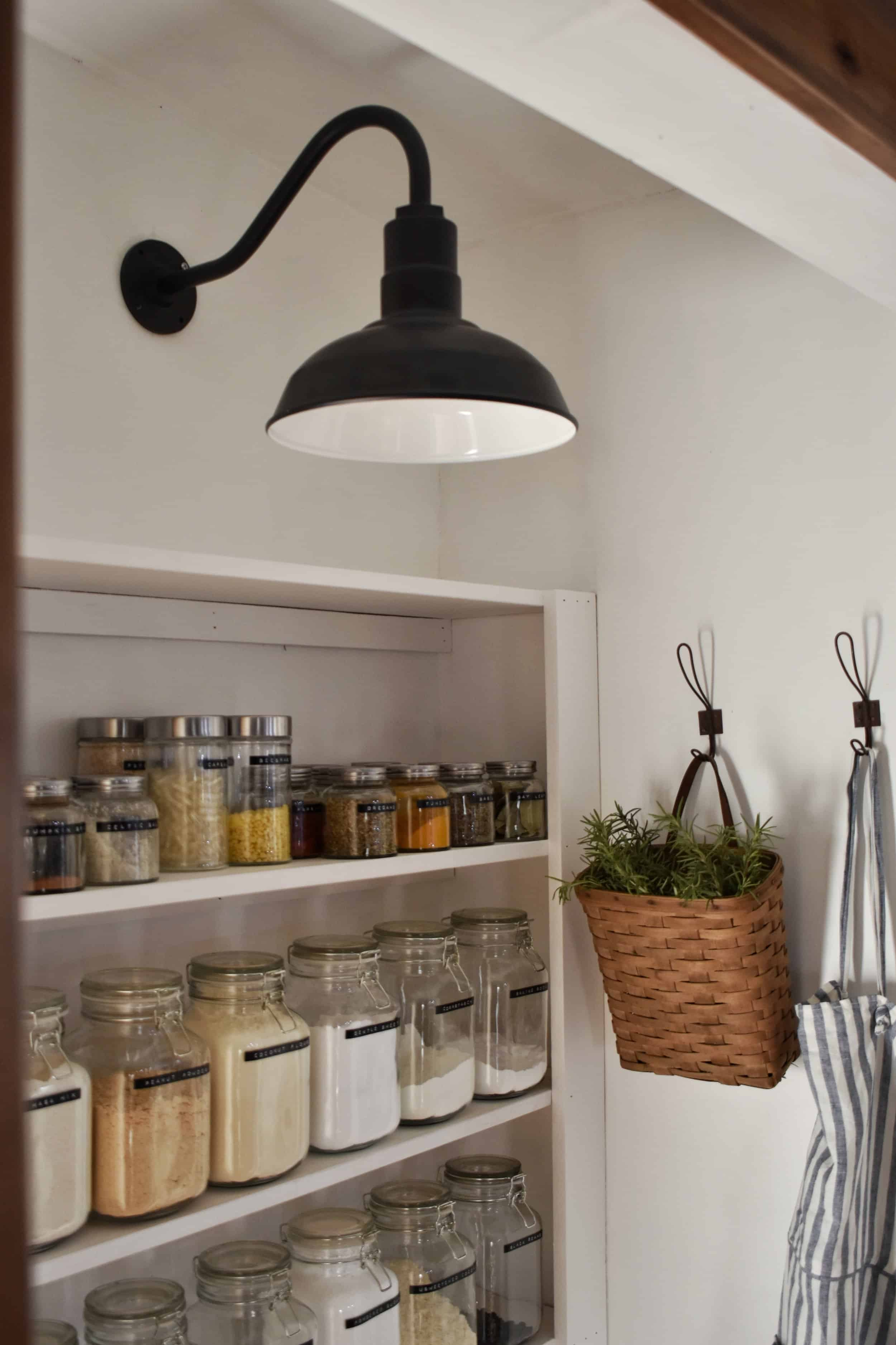 Pantry Lighting For The Kitchen Rocky Hedge Farm