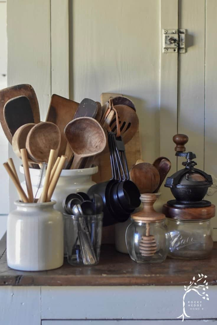 Wooden Cooking Utensils and Tools - Rocky Hedge Farm